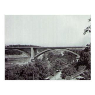 Puente New York City de Washington Tarjeta Postal