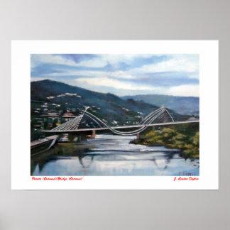 Puente (Ourense)/Bridge (Ourense) Impresiones