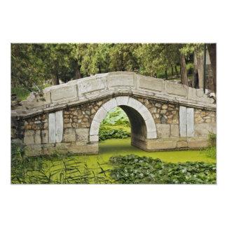 Puente, palacio de verano, Pekín, China Fotografía