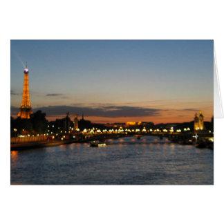 Puente París de Alexander Tarjeta De Felicitación