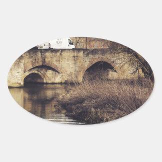 puente colcomanias de óval