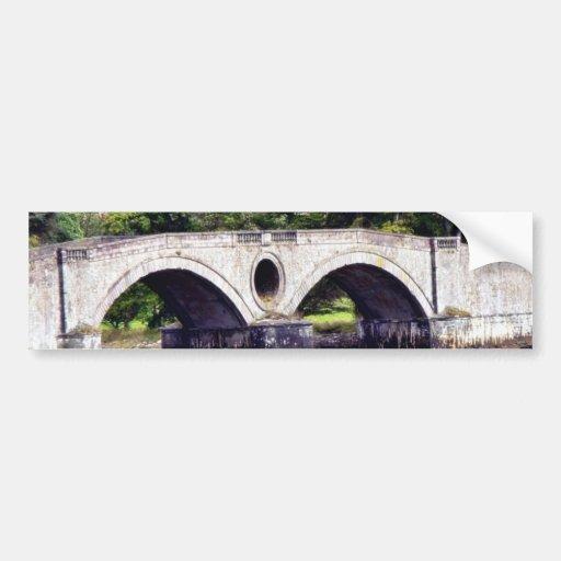 Puente Pegatina De Parachoque