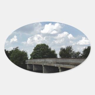 Puente Pegatina Ovalada