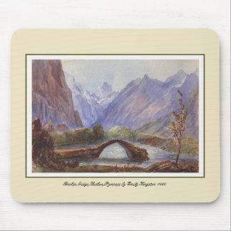 Puente quebrado, Luchon, los Pirineos Tapetes De Raton