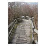 Puente raquítico (espacio en blanco) tarjeton