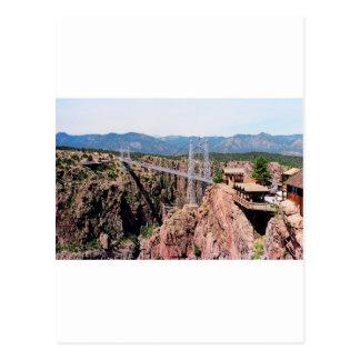 Puente real de la garganta, el más alto de los postal