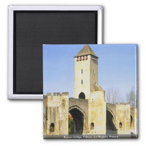Puente romano, Cahors, región de la porción, Franc Iman