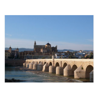 Puente romano en Córdoba Tarjeta Postal