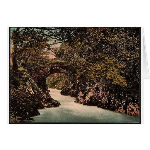 Puente romano II, Bettws-y-Coed (es decir Betws),  Felicitaciones