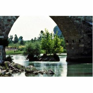 Puente romano, río de Goksu, Silifke Esculturas Fotográficas
