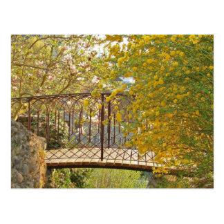 Puente romántico - postal