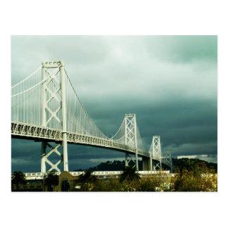 Puente San Francisco de la bahía de Oakland Postal