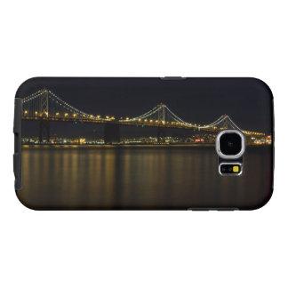 Puente San Francisco de la bahía en la caja del Fundas Samsung Galaxy S6