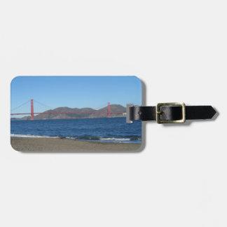 Puente San Francisco del Golden Gate Etiqueta Para Equipaje