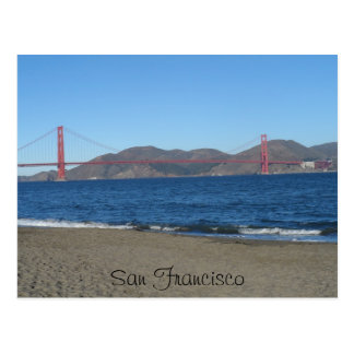 Puente San Francisco del Golden Gate Postal