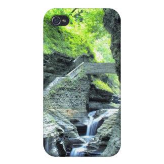 puente sobre el caso del iphone de la cascada iPhone 4 funda