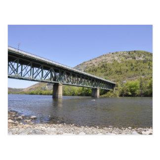 puente sobre el río de Lehigh Postal
