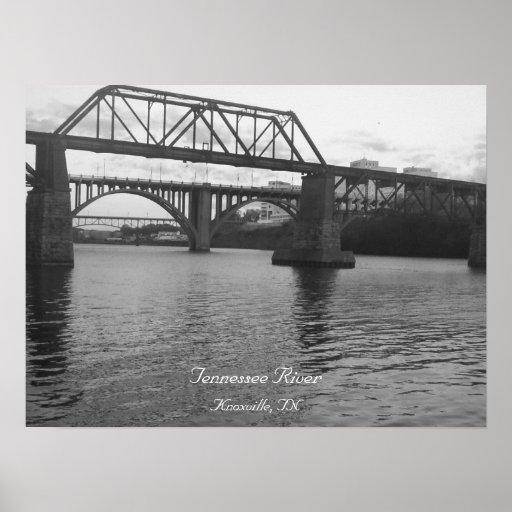 Puente sobre el río del TN Poster