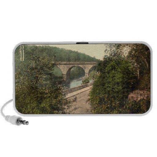 Puente sobre el río Derwent, Ambergate, Derbyshire PC Altavoces