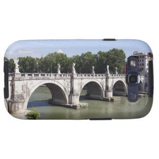 Puente sobre el río Tíber, Roma (Italia). Es Galaxy SIII Protectores