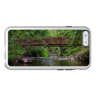 Puente sobre un caso del iPhone 6 de la cala Funda Para iPhone 6 Plus Incipio Feather Shine