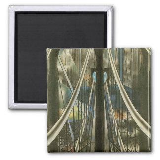 Puente, Stella, arquitectura de New York City del  Imán Para Frigorifico