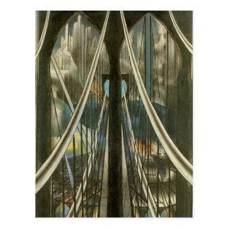 Puente, Stella, arquitectura de New York City del  Postal