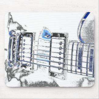 puente strings jpg del negro azul de la imagen del alfombrilla de raton