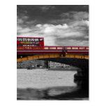 Puente Thames Londres de Vauxhall Postal