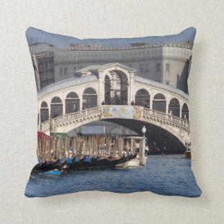 Puente Venecia Italia de Rialto Cojín