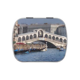 Puente Venecia Italia de Rialto Frascos De Caramelos