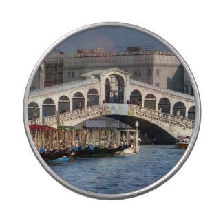 Puente Venecia Italia de Rialto Jarrones De Caramelos