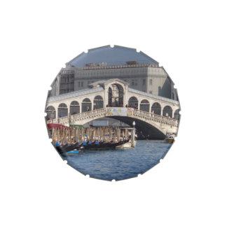 Puente Venecia Italia de Rialto Jarrones De Dulces
