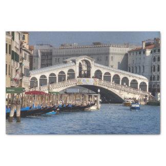 Puente Venecia Italia de Rialto Papel De Seda Pequeño