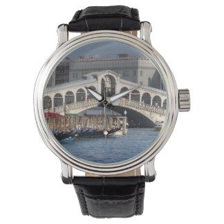 Puente Venecia Italia de Rialto Relojes De Pulsera