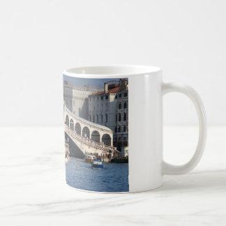 Puente Venecia Italia de Rialto Taza