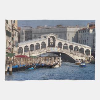 Puente Venecia Italia de Rialto Toallas