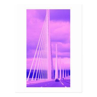 Puente * Viaduc de Millau * 02 Millau especie Postales