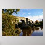 Puente viejo de Stirling Posters