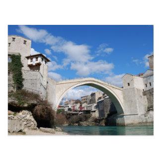 Puente viejo en Mostar Tarjetas Postales