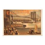"""Puente """"virutas para rellenar """" de New York City B Impresiones En Lienzo Estiradas"""