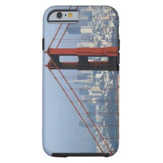 Puente visto San Francisco del Golden Gate del Funda De iPhone 6 Tough