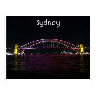 puente vivo de Sydney Tarjetas Postales