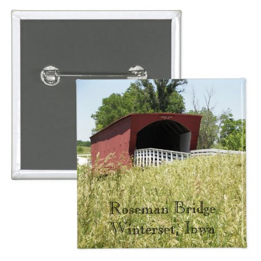 Puente Winterset, Iowa de Roseman Pin