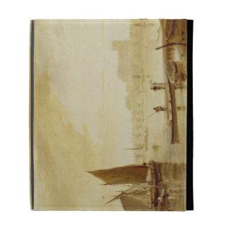 Puente y abadía, 1813 de Westminster (aceite a bor