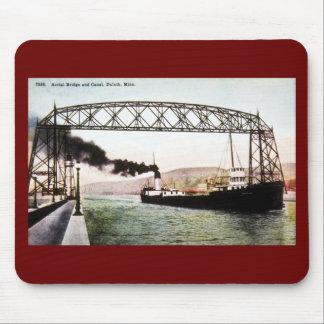 Puente y canal aéreos, Duluth, Minnesota Tapete De Ratón