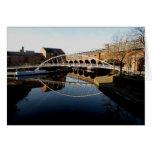 Puente y canal tarjetón