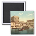 Puente y canal, Venecia Imanes Para Frigoríficos