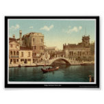 Puente y canal, Venecia, Italia Impresiones