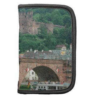 Puente y castillo viejos de Heidelberg Planificadores